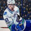 "Bo Horvat, 16"" x 20"", acrylic on canvas"
