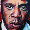 "Jay-Z, 24"" x 36"", acrylic on canvas"