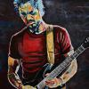 "Ian Thornley (Big Wreck), 24"" x 36"", acrylic on canvas"