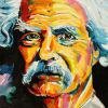 "Mark Twain, 15"" x 30"", acrylic on canvas"