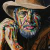 "Merle Haggard, 16"" x 20"", acrylic on canvas - painted April 6, 2016"