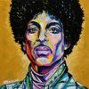 "Prince No. 2, 16"" x 16"", acrylic on canvas"