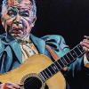 "John Prine, 24"" x 36"", acrylic on canvas"