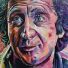 "Gene Wilder, 30"" x 40"", acrylic on canvas"