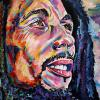 "Bob Marley, 24"" x 36"", acrylic on canvas"