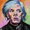 "Andy Warhol No. 2, 12"" x 12"", acrylic on canvas"