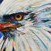 "Eagle, 10"" x 20"", acrylic on canvas"