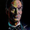 "Bill Nye, 16"" x 20"", acrylic on canvas"