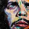 "Chris Cornell, 12"" x 24"", acrylic on canvas"