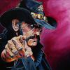 "Lemmy, 18"" x 24"", acrylic on canvas"