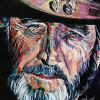 "Don Williams No. 2, 16"" x 20"", acrylic on canvas"