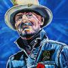 "Gord Downie (2017), 16"" x 20"", acrylic on canvas"