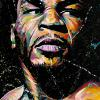 "Iron Mike Tyson, 24"" x 36"", acrylic on canvas"