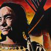 "Tantoo Cardinal, 24"" x 48"", acrylic on canvas"
