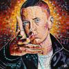 "Eminem No. 2, 24"" x 24"", acrylic on canvas"