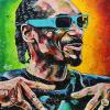 "Snoop Dogg, 24"" x 24"", acrylic on canvas"
